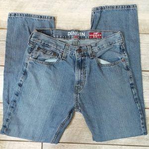 Denizen Levis Regular Fit Straight Jeans